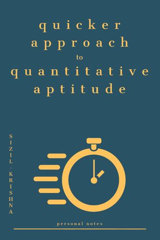 Quicker Approach to Quantitative Aptitude