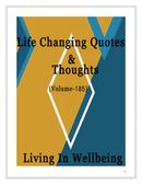 Life Changing Quotes & Thoughts (Volume 185)