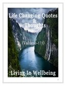 Life Changing Quotes & Thoughts (Volume 171)