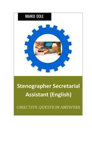 Stenographer secretarial Assistant
