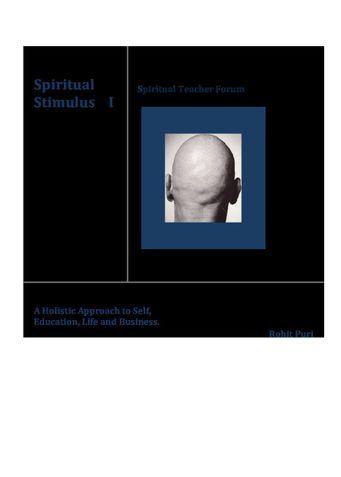 Spiritual Stimulus I