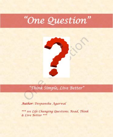One Question