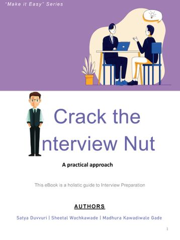 CRACK THE INTERVIEW NUT - A practical approach