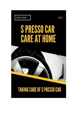 S Presso Car Care at Home