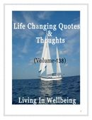 Life Changing Quotes & Thoughts (Volume 138)