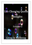 Life Changing Quotes & Thoughts (Volume 103)
