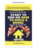 START TO END ON HOW TO BUILD A HOUSE