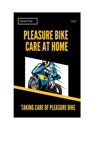Pleasure Bike Care at Home