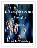 Life Changing Quotes & Thoughts (Volume 105)