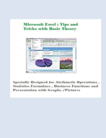 Microsoft Excel Guide ( with Tips and Tricks )