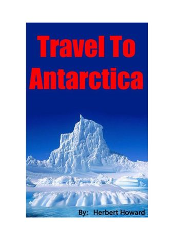 Travel To Antarctica
