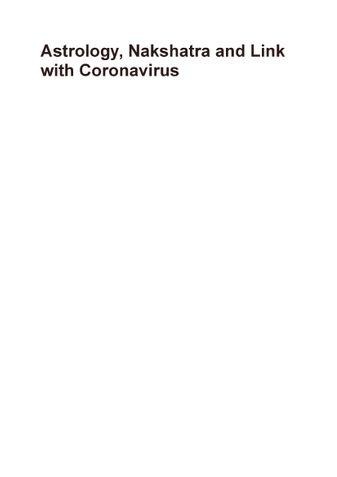 Astrology, Nakshatra and Link with Coronavirus