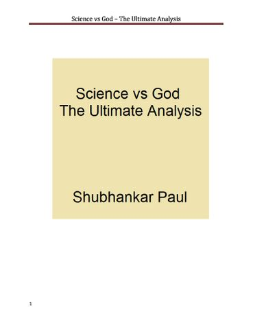 Science vs God - The Ultimate Analysis