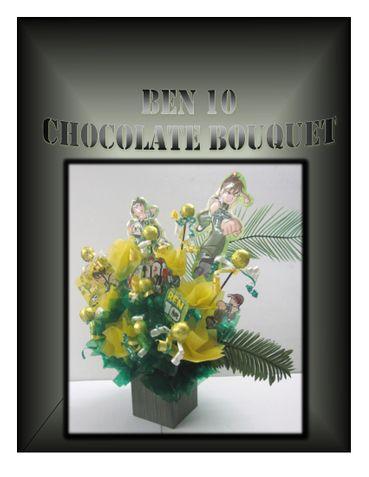 BEN 10 CHOCOLATE BOUQUET