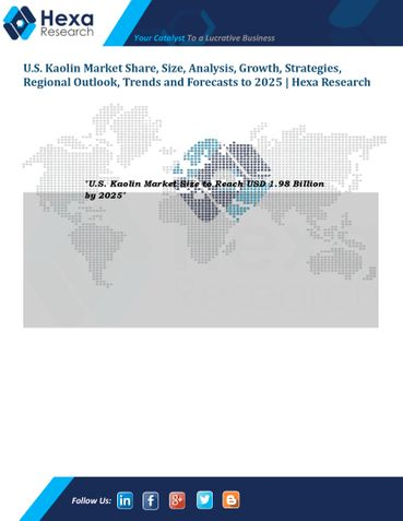 U.S. Kaolin Market Size, Share, Application and Trend Analysis, 2014 to 2025