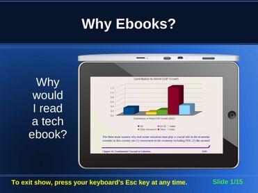 Why Ebooks?