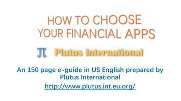How to choose your financial apps