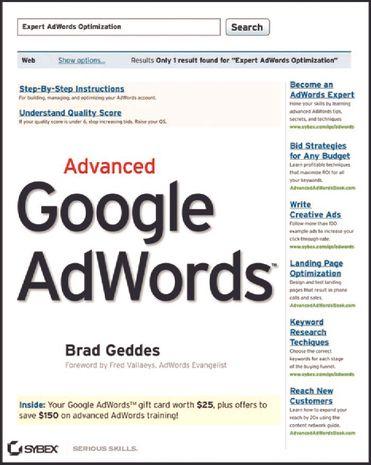 Advanced Google AdWords