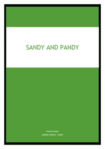 Sandy and Pandy
