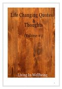 Life Changing Quotes & Thoughts (Volume 41)