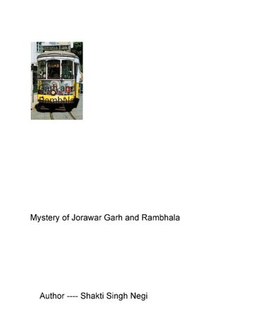 Mystery of Jorawar Garh and Rambala