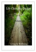 Life Changing Quotes & Thoughts (Volume 50)
