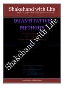Solved Paper Quantitative Techniques/Methods  Feb. 2012