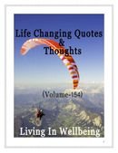 Life Changing Quotes & Thoughts (Volume 154)