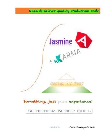 Jasmine Design By Test