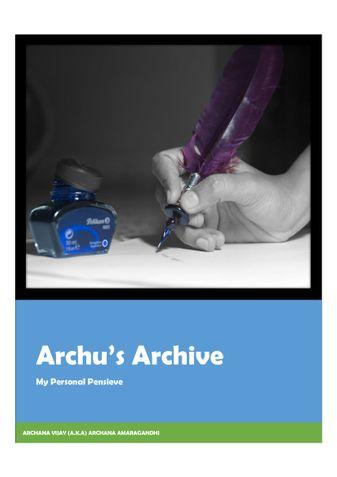 Archu's Archive