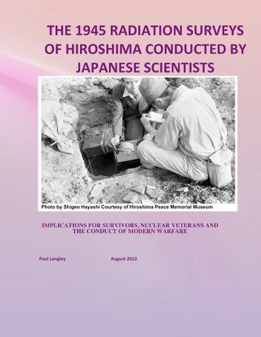 The 1945 Radiation Surveys of Hiroshima Conducted by Japanese Scientists