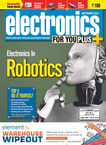Electronics For You, September 2014