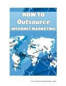 Outsource Internet Marketing
