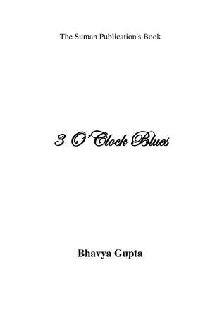 3 O'CLOCK BLUES