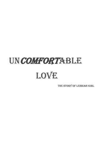Uncomfortable Love