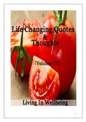 Life Changing Quotes & Thoughts (Volume 77)