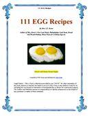 111 EGG Recipes