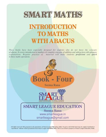Introduction to Maths with Abacus - 4