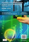 Proceedings of ICASMT 2014