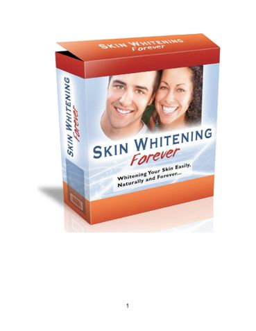 Skin Whitening Forever Review PDF eBook Book Free Download