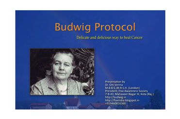 Budwig Cancer Therapy Album