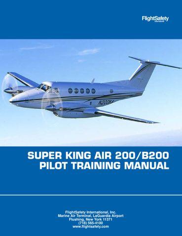 King Air B200 Flight manual