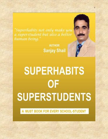 Superhabits of Superstudents