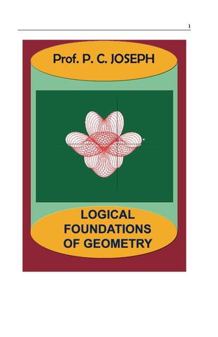 Logical Foundations of Geometry