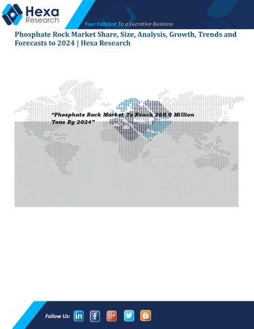Phosphate Rock Market Size, Growth, Applicaiton and Trend Analysis, 2014 to 2024
