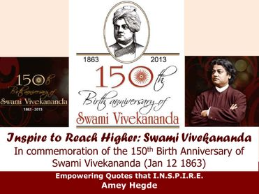 Inspire To Reach Higher: Swami Vivekananda