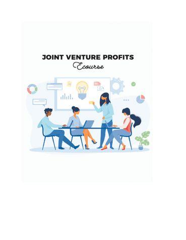 10-day Joint Venture Profits Ecourse