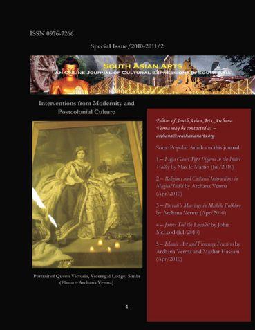 South Asian Arts Vol IV