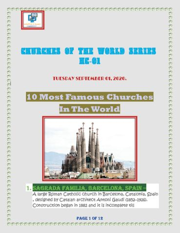 CHURCHES OF THE WORLD SERIES