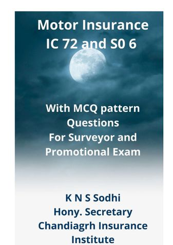 Motor Insurance IC 72 and S 06